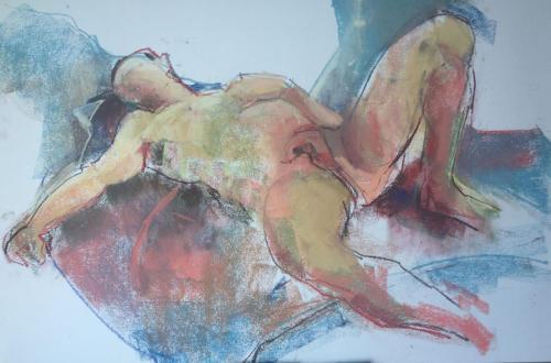 Pablo (Pato) (70×50)cm pastel