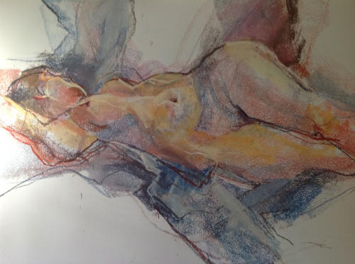 Always Esther (70x50cm) pastel