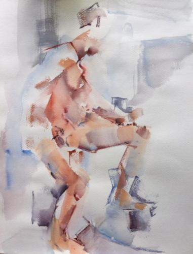 Blas, ±(70×50)cm aquarel