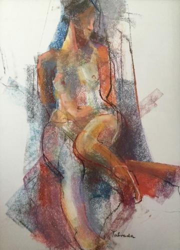 Stella Ester, (70×50)cm pastel