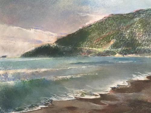 Bahía de Igalo, Montenegro   ± (70x50)cm pastel