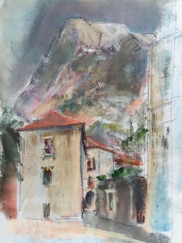 Kotor, Montenegro, ±(50×35)pastel