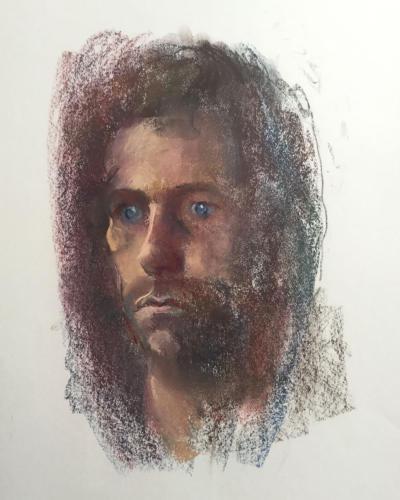 Onno in Waardenburg (70x50)cm pastel